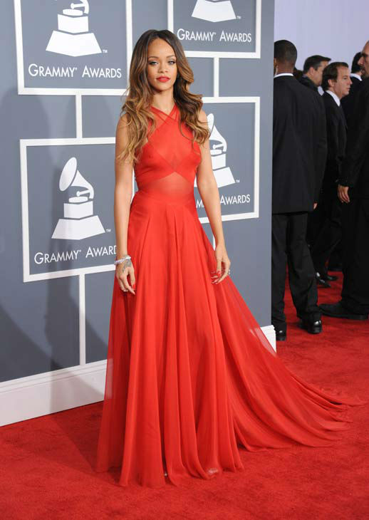 130210-galleryimg-ap-grammys-red-carpet-rihanna-dress