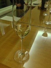 The famous Blanc de Blanc wine that they are known for.  It really was fantastic.